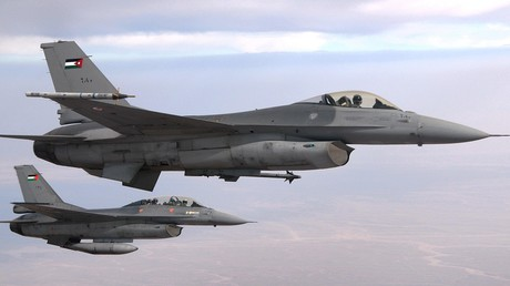 Un avion de chasse jordanien s'écrase, deux morts à déplorer