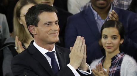 Manuel Valls est crédité de 10 % des intentions de vote au premier tour de l'élection présidentielle selon un récent sondage