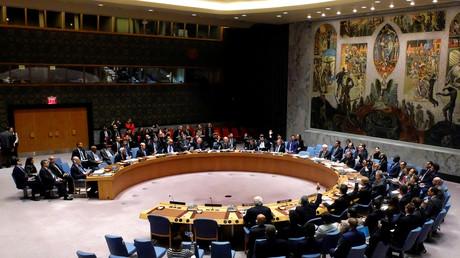 Réunion du Conseil de sécurité de l'ONU
