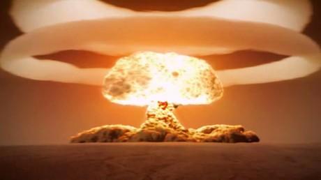 Explosion de la bombe atomique russe «Tsar Bomba» en 1961