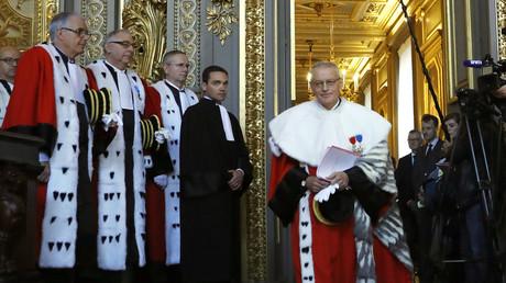 Le président de la Cour de cassation Bertrand Louvel