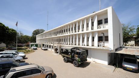 L'ambassade de France à N'Djamena