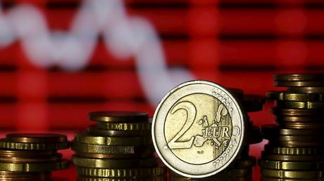Des pièces d'euros