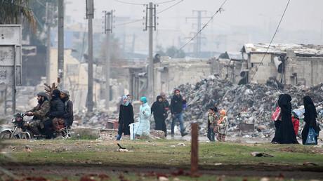 Les habitants d'Alep ont été empêchés de fuir les combats, rapporte John Kerry