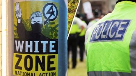 Une campagne d'affichage d'Action Nationale au Royaume-Uni