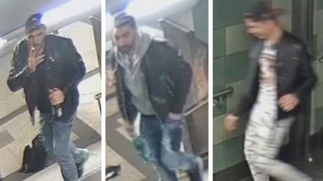 Images de vidéosurveillance de l'agression dans le métro de Berlin, capture d'écran Twitter @FenMorgana