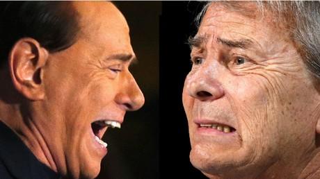 La guerre économique fait rage entre Vincent Bolloré et Silvio Berlusconi
