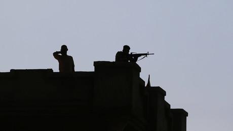 Des militaires irakiens à Mossoul