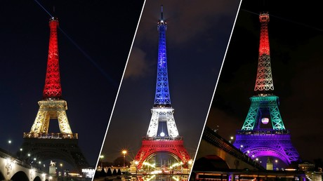 La tour Eiffel, joystick de la propagande occidentale