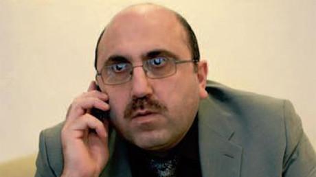 Rami Abdel Rahman, alias  Ossama Suleiman, alias OSDH, photo postée sur Facebook en février 2013, capture d'écran Facebook, DR.