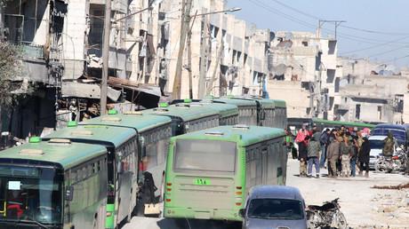 Evacuation en cours à Alep-Est