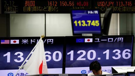 Le Japon est le pays qui possède le plus de dollars au monde