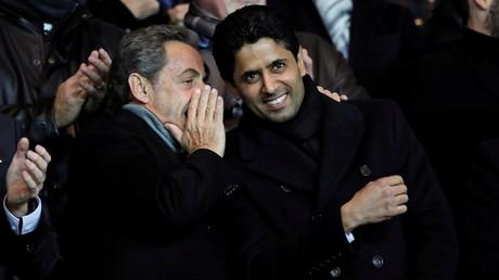 Nicolas Sarkozy prendra-t-il la place de Nasser Al-Khelaïfi, celui à côté duquel il avait l'habitude d'assister aux matchs du PSG ?