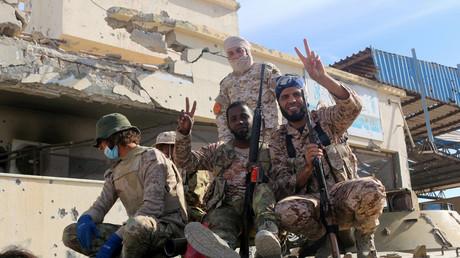 Combattants des Forces Libyennes
