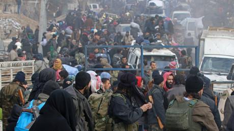L'évacuation d'Alep-Est