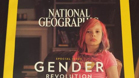 La couverture du numéro de janvier 2017 de National Geographic