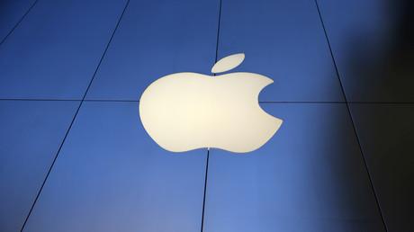 Le logo de la société Apple