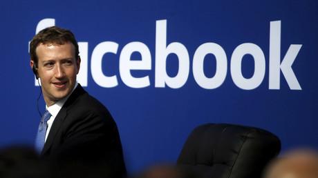 Le PDG de Facebook Mark Zuckerberg