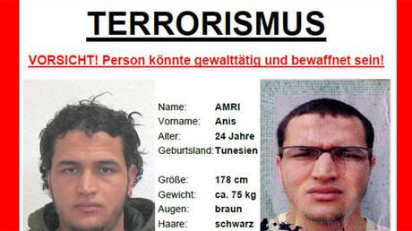 La police allemande a diffusé des photos du principal suspect de l'attaque de Berlin, Anis Amri, un Tunisien de 24 ans