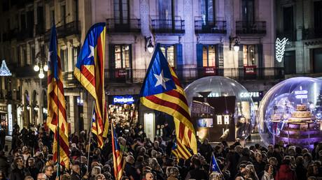 Démonstration de force des indépendantistes catalans le 15 décembre à Barcelone