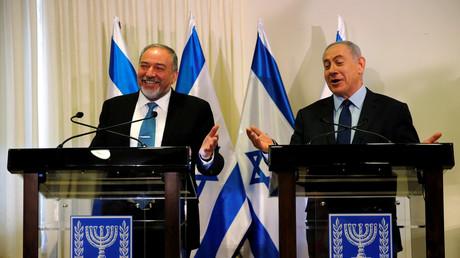 Avigdor Lieberman et Benjamin Netanyahou