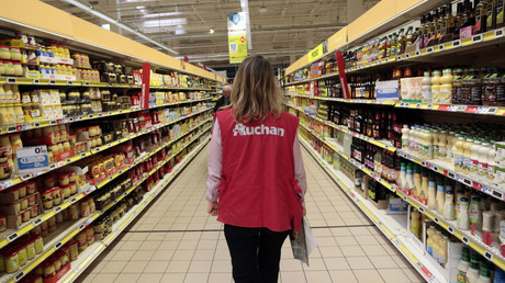 Supermarché Auchan en France