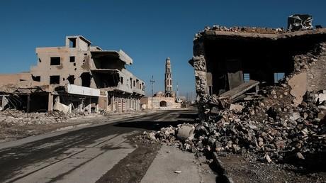Les militaires irakiens et américains tentent de chasser Daesh d'Irak