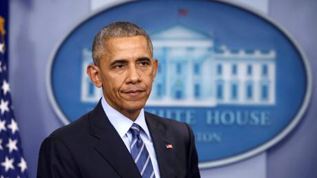 Le président sortant américain