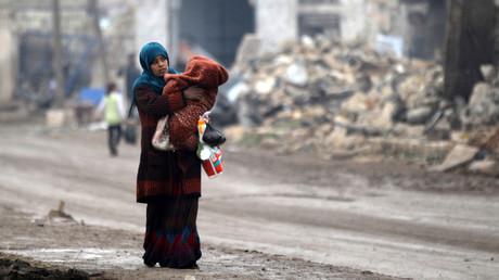 Alep, Syrie, décembre 2016
