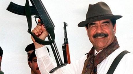 Saddam Hussein en 1998