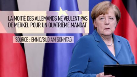 Capture d'écran de la vidéo de RT : Angela Merkel