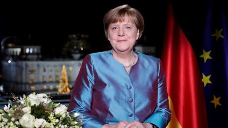 Les vœux du Nouvel An d'Angela Merkel