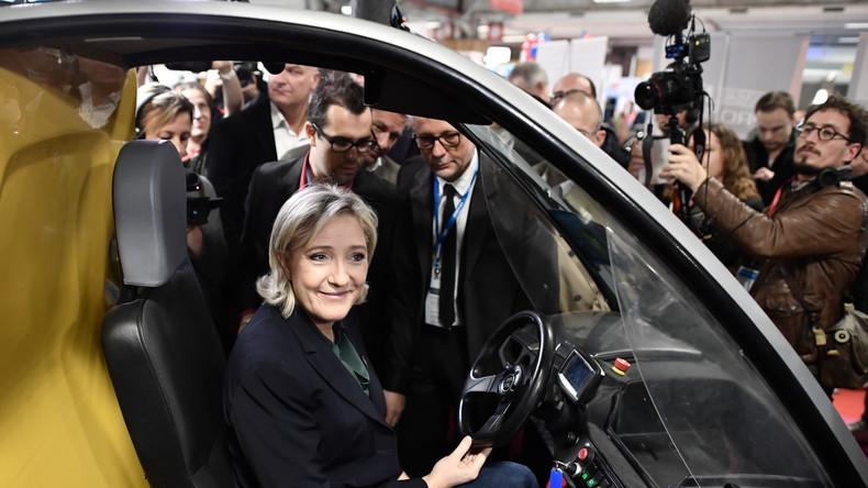 """Résultat de recherche d'images pour """"france, Marine Le Pen, mettre fin aux délocalisations, 2016, 2017"""""""