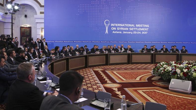 Bilan de la conférence d'Astana : une «première réussite» en vue d'une paix future en Syrie