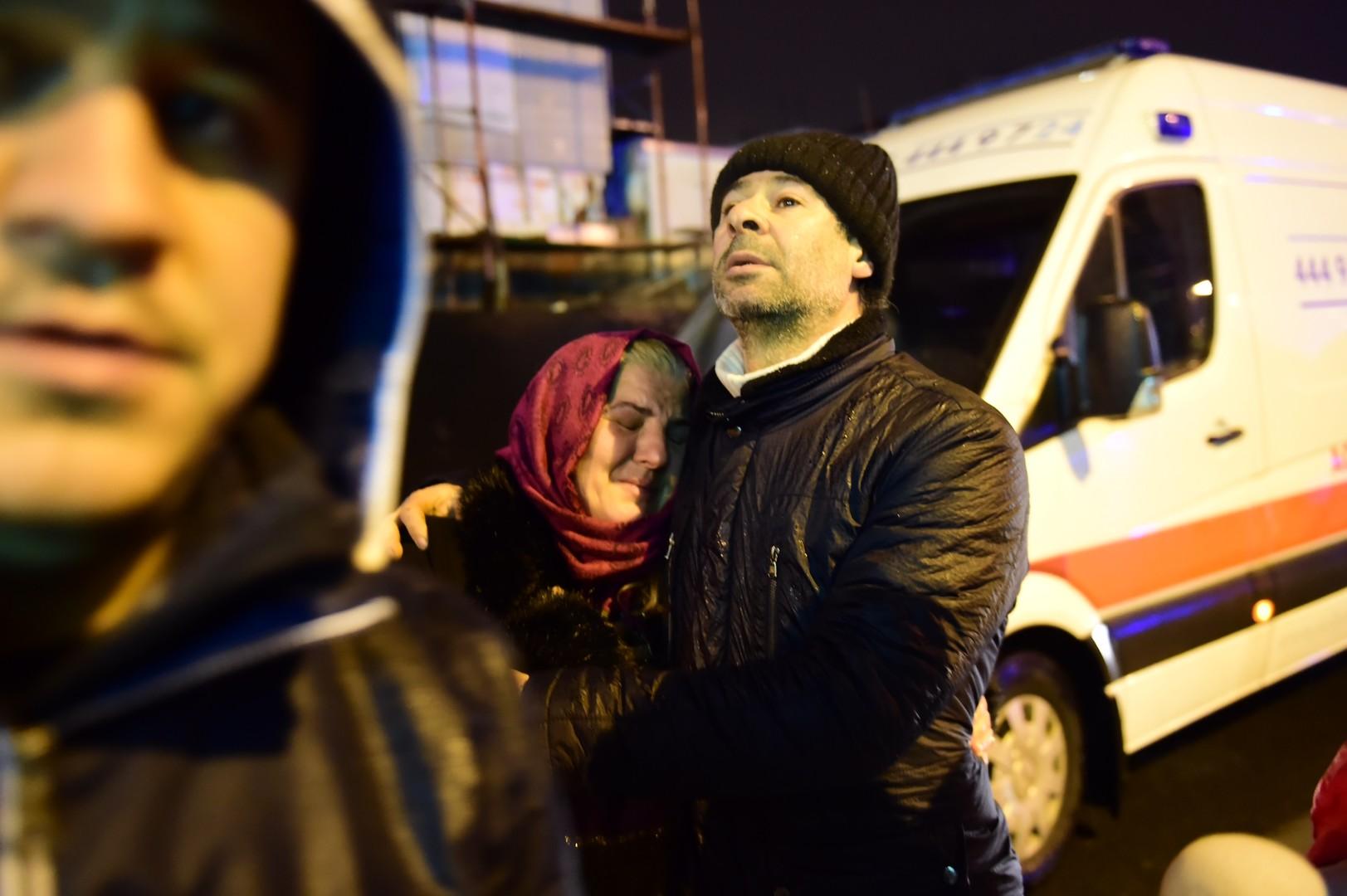 Les premières images de l'attentat d'Istanbul