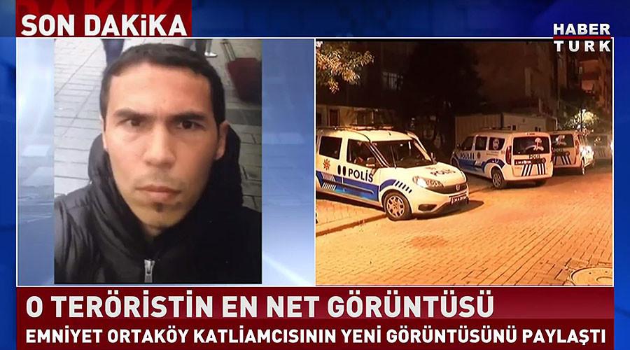 Istanbul : la police turque publie les premières photos du tueur du Reina