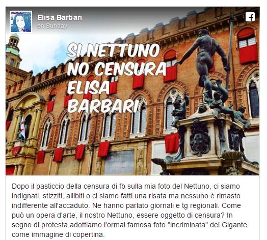Une statue de Neptune nu datant du XVIe siècle censurée «par erreur» sur Facebook