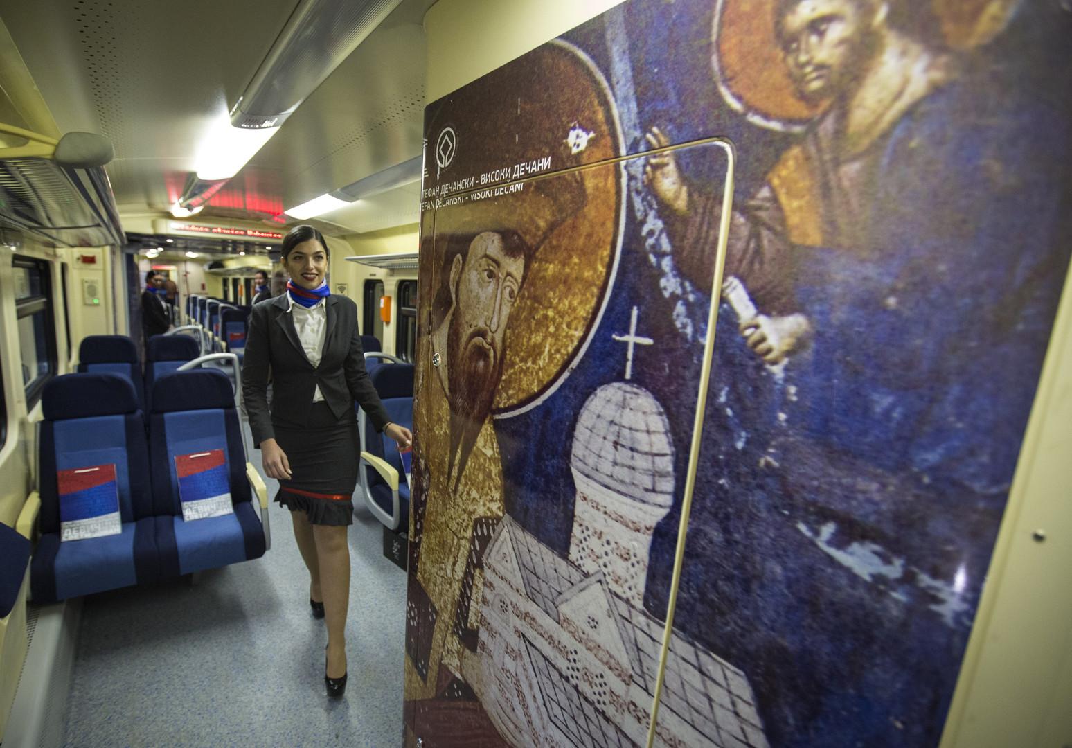 Le Kosovo refuse l'entrée d'un train serbe  sur son territoire : Belgrade menace de déployer l'armée