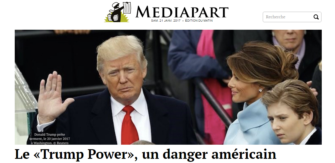Apocalypse à la Maison Blanche ? Quand la presse mainstream panique face à l'investiture de Trump