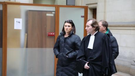 Sandra Bertin comparaît devant la 17e chambre à Paris