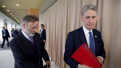 Tim Barrow et Philip Hammond