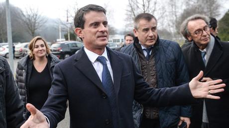 Manuel Valls à Fesches-le-Chatel le 7 décembre 2016