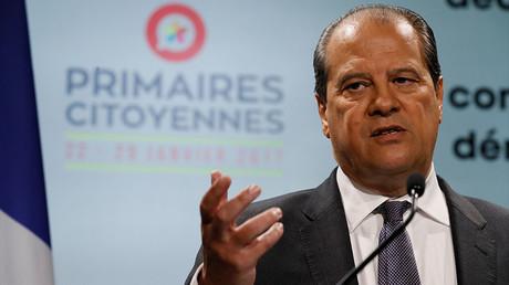 Jean-Christophe Cambadélis, premier secrétaire du Parti socialiste, photo ©THOMAS SAMSON / AFP