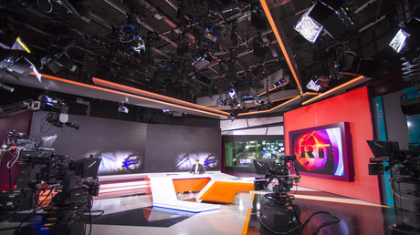 Studio de Russia Today