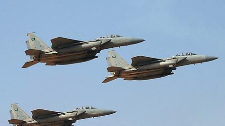 Des avions de chasse saoudiens (photographie d'illustration)