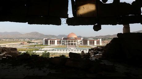 Le nouveau parlement afghan de Kaboul en juin 2016, photo ©Reuters/Omar Sobhani