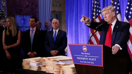 Affaire Trump : des médias américains étrillent BuzzFeed pour son manque d'éthique journalistique