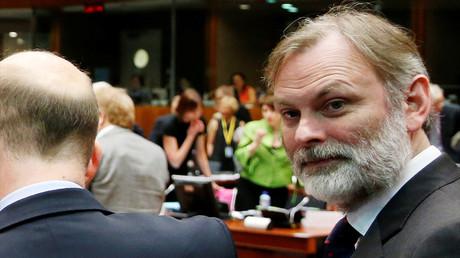 Tim Barrow en juillet 2016, alors directeur politique du ministère des Affaires étrangères britannique, photo ©Francois Lenoir/Reuters