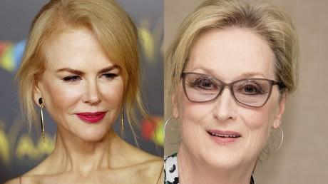 Alors que Nicole Kidman (à gauche) a invité les Américains à soutenir Donald Trump, Meryl Streep (à droite) ne cache pas son hostilité au président élu des Etats-Unis