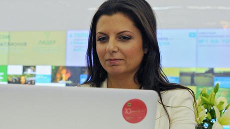 La rédactrice en chef de RT, Margarita Simonian